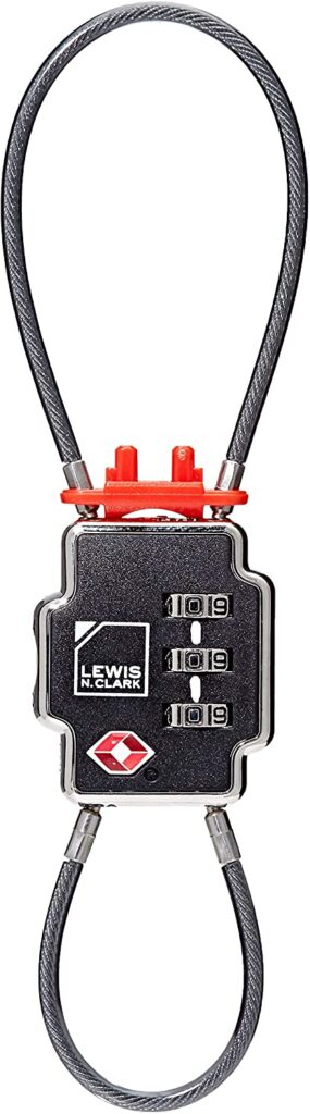 Lewis N Clark Triple Security TSA Lock