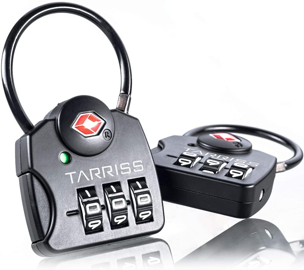 Tarriss TSA Luggage Lock with SearchAlert