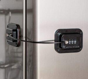 Keyless Refrigerator Lock Heavy Duty Combination Fridge Lock